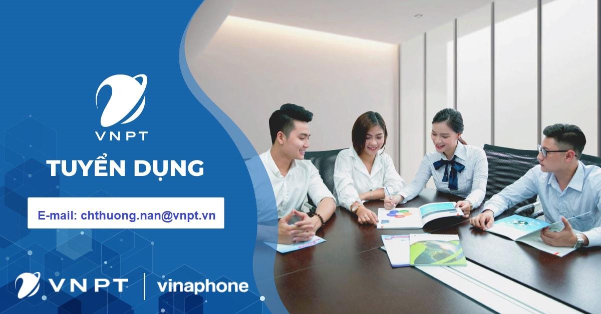VNPT Nghệ An thông báo tuyển dụng vị trí Telesale lương cao