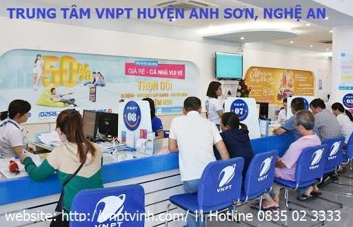 Lắp mạng Vnpt huyện Anh Sơn