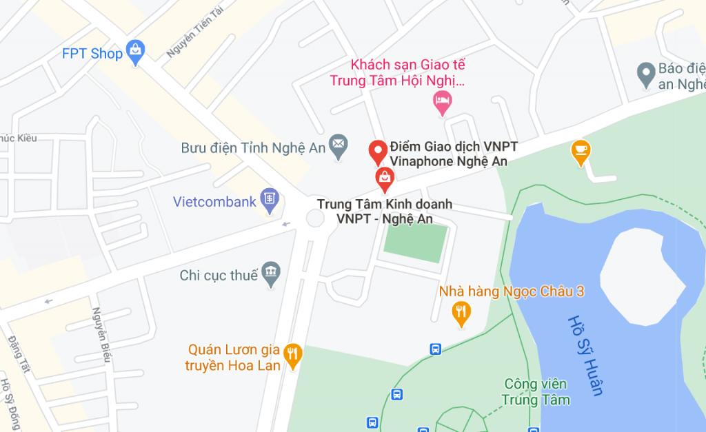Văn phòng giao dịch Vnpt Nghệ An