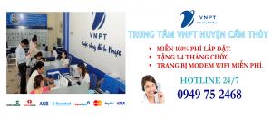 Lắp mạng internet cáp quang VNPT tại Huyện Cẩm Thủy, tỉnh Thanh Hóa