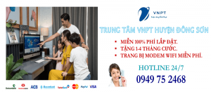 Lắp mạng internet cáp quang VNPT tại Huyện Đông Sơn, tỉnh Thanh Hóa