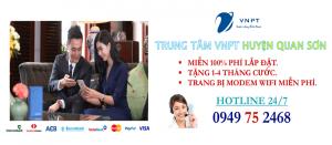 lắp mạng internet cáp quang VNPT Huyện Quan Sơn, Thanh Hóa