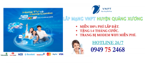 lắp mạng internet cáp quang VNPT Huyện Quảng Xương, Thanh Hóa