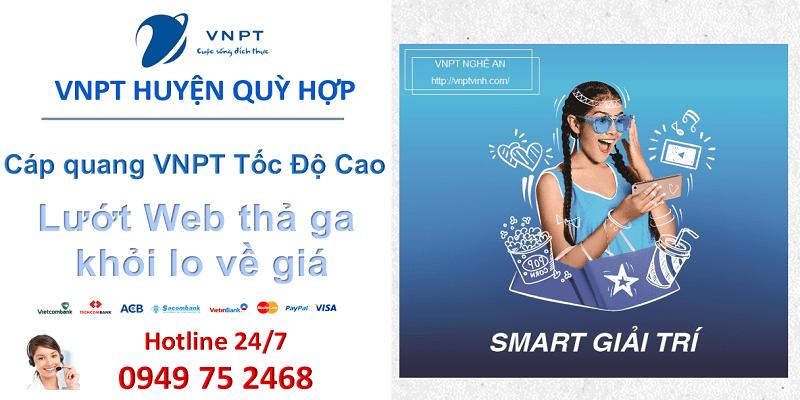 lắp mạng cáp quang VNPT Huyện Quỳ Hợp, Nghệ An