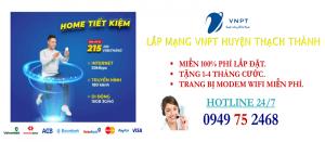 lắp mạng internet cáp quang VNPT Huyện Thạch Thành, Thanh Hóa