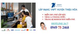 lắp mạng internet cáp quang VNPT Huyện Thiệu Hóa, Thanh Hóa