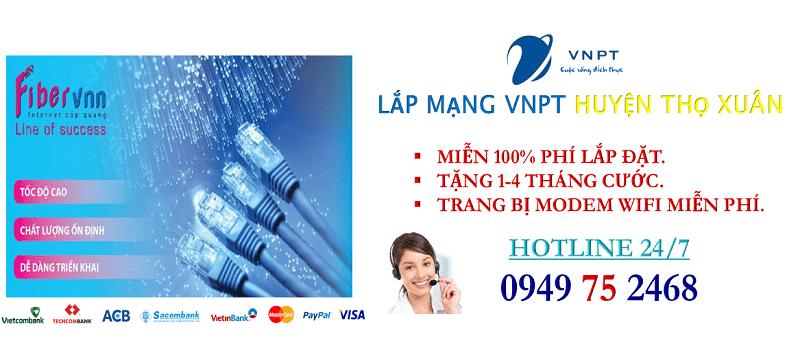 lắp mạng internet cáp quang VNPT Huyện Thọ Xuân, Thanh Hóa