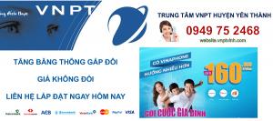 lắp mạng cáp quang vnpt Huyện Yên Thành, Nghệ An