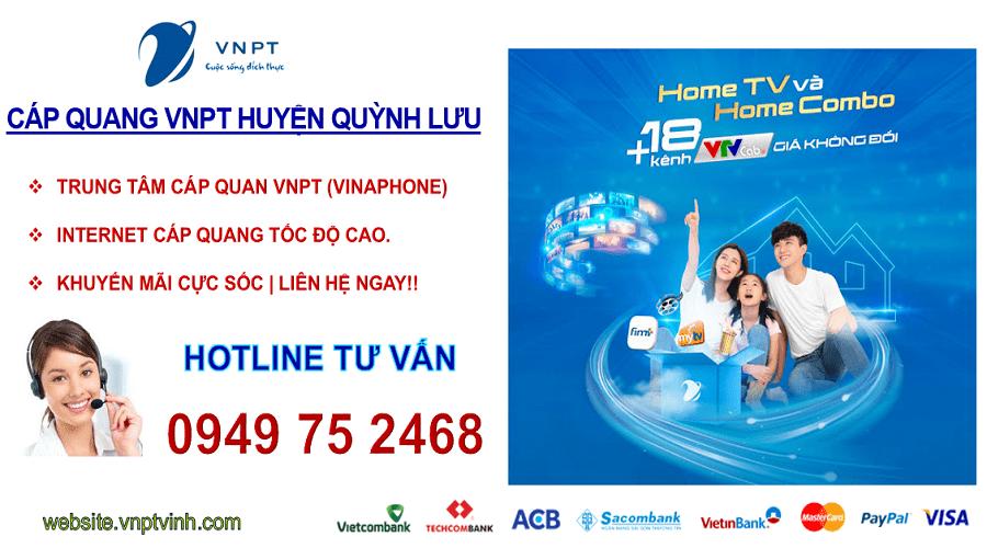 lắp mạng vnpt Huyện Quỳnh Lưu