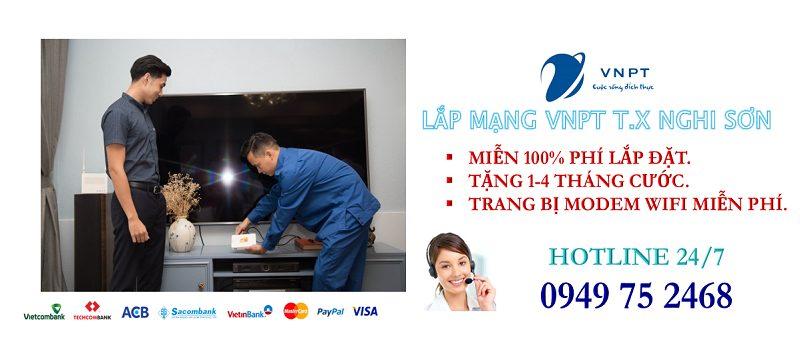 Lắp mạng internet cáp quang VNPT tại Thị Xã Nghi Sơn, tỉnh Thanh Hóa