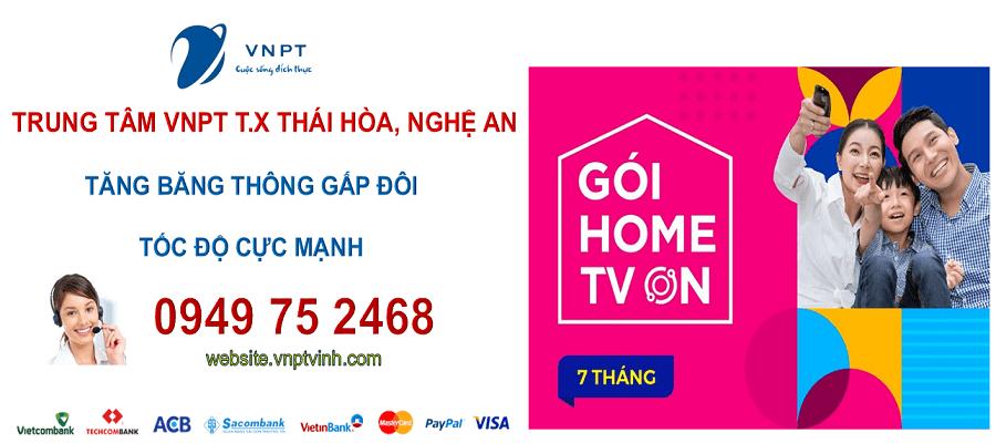 lắp mạng cáp quang vnpt thị xã Thái Hòa, Nghệ An