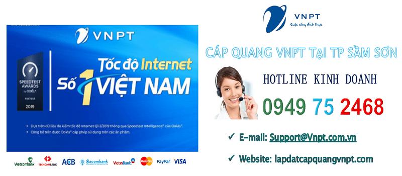 lắp mạng cáp quang vnpt tại TP Sầm Sơn, Thanh Hóa