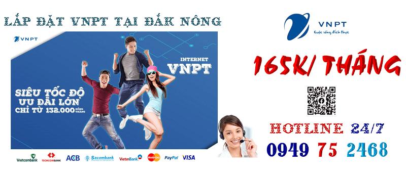 lắp đặt mạng cáp quang VNPT tại tỉnh Đắk Nông
