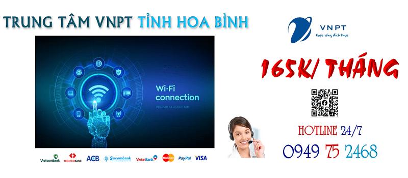 lắp đặt mạng wifi internet cáp quang VNPT tại tỉnh Hòa Bình