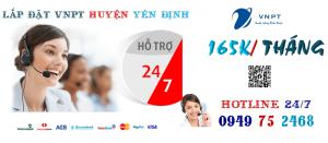 lắp đặt mạng VNPT tại Huyện Yên Định, tỉnh Thanh Hóa