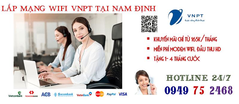 lắp mạng wifi cáp quang VNPT tại TP Nam Định