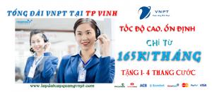 Tổng đài lắp mạng cáp quang VNPT tại TP Vinh