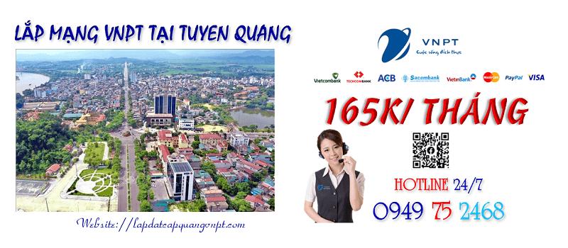 Tổng đài lắp đặt mạng cáp quang VNPT tại tỉnh Tuyên Quang