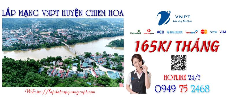 Lắp mạng wifi cáp quang VNPT tại Huyện Chiêm Hóa tỉnh Tuyên Quang