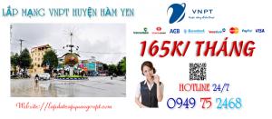 Lắp mạng wifi cáp quang VNPT tại Huyện Hàm Yên tỉnh Tuyên Quang
