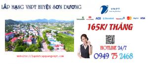 Tổng đài lắp mạng cáp quang VNPT tại Huyện Sơn Dương