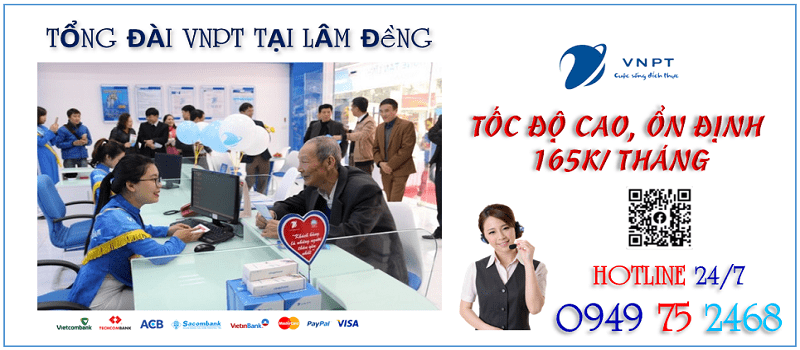 Lắp mạng VNPT Lâm Đồng được miễn 100% phí hòa mạng