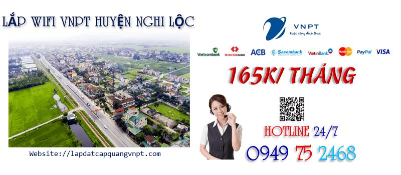 Tổng đài lắp mạng wifi cáp quang VNPT tại Huyện Nghi Lộc