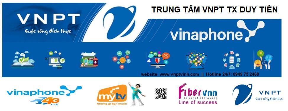 Lắp mạng cáp quang VNPT Thị Xã Duy Tiên