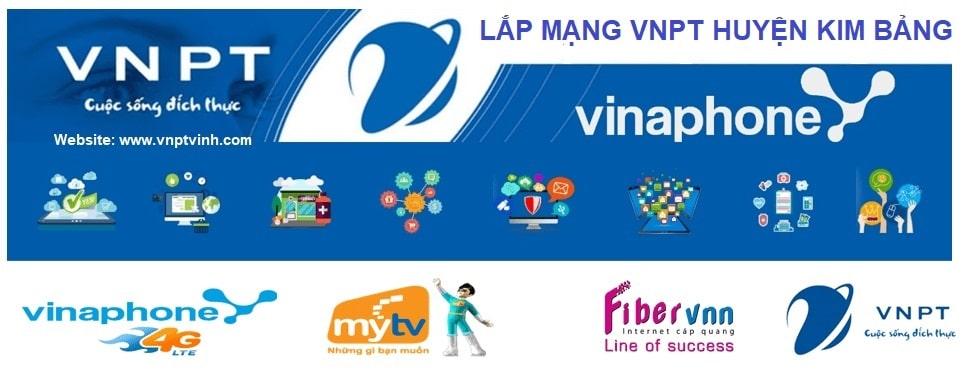 Lắp mạng cáp quang VNPT Huyện Kim Bảng
