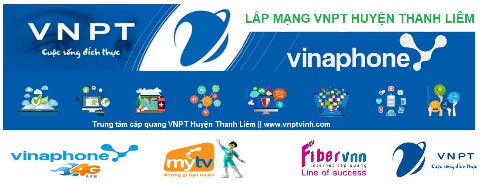 Lắp mạng cáp quang VNPT Huyện Thanh Liêm